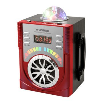 WONDER 旺德電通WS-P009 USB/MP3/FM 隨身音響