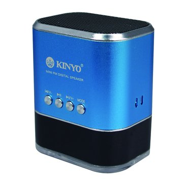 KINYO 金葉藍/MPS-377 USB插卡式喇叭