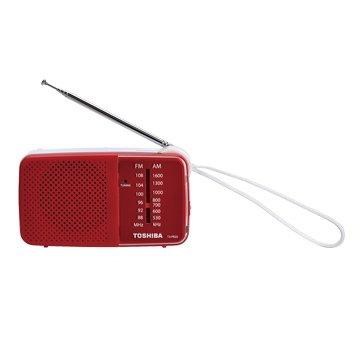 TOSHIBA 東芝TX-PR20TW(紅) 攜帶型收音機
