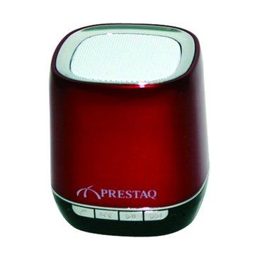 PRESTAQ 紅/SP00102藍牙插卡喇叭(福利品出清)