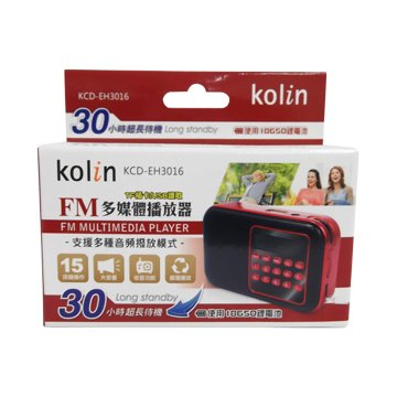 kolin  多媒體撥放器 KCD-EH3016