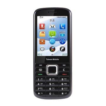 TaiwanMobile 台灣大哥大 TWM F102 3G輕便直立手機-黑(福利品出清)