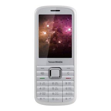 TaiwanMobile 台灣大哥大 TWM F102 3G輕便直立手機-白