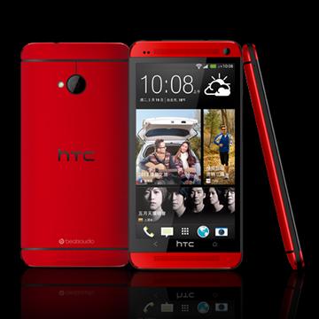 HTC 宏達電 New One(801E)16G-紅(福利品出清)
