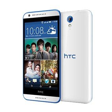 HTC 宏達電 Desire 620 dual sim(D620)-白+籃框(福利品出清)