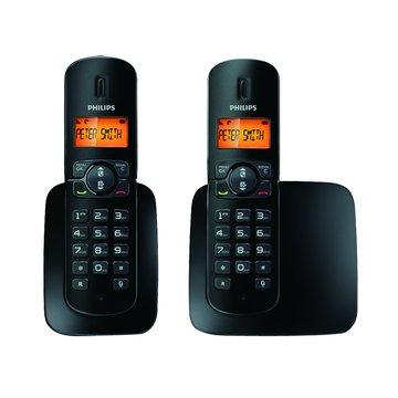 PHILIPS 飛利浦 CD1802B 數位無線子母電話(福利品出清)