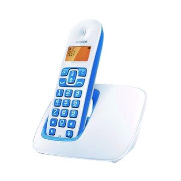 PHILIPS 飛利浦 CD1901WB 數位無線電話(白藍)(福利品出清)