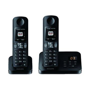 PHILIPS 飛利浦D6052B  HQ Sound中文無線電話(福利品出清)