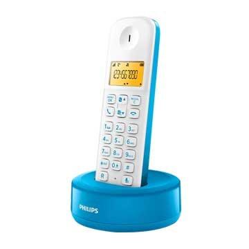 PHILIPS 飛利浦D1301WA (藍)數位無線電話(福利品出清)