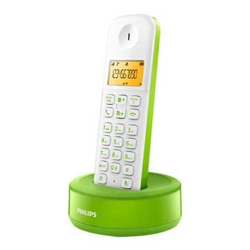 PHILIPS 飛利浦D1301WN (綠)數位無線電話(福利品出清)