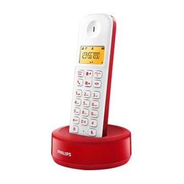 PHILIPS 飛利浦D1301WR (紅)數位無線電話