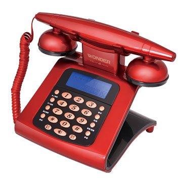WONDER 旺德電通WT-05 仿古來電顯示電話機