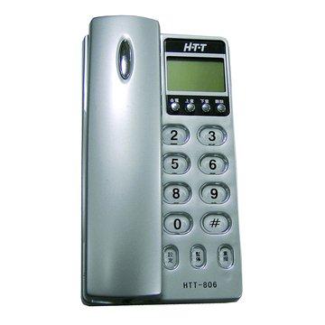 H.T.T 新幹線 HTT-806來電顯示有線電話 (恕不挑顏色款)