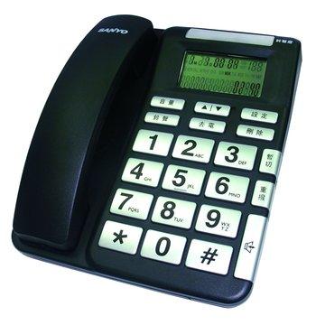 SANLUX 台灣三洋 TEL987有線電話機(福利品出清)