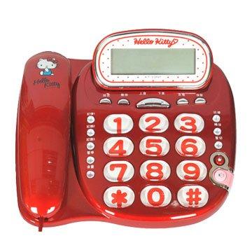 Hello Kitty 凱蒂貓KT-229 有線電話機