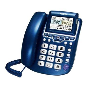 TECO 東元XYFXC010來電顯示有線電話機(福利品出清)