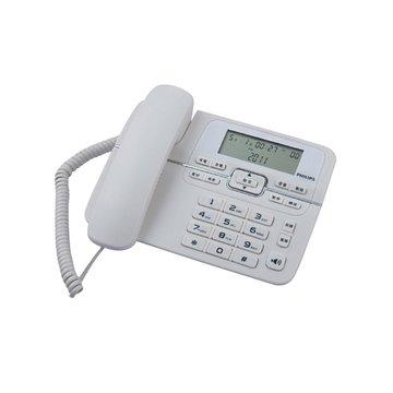 PHILIPS 飛利浦 M20/W白色 有線電話(福利品出清)