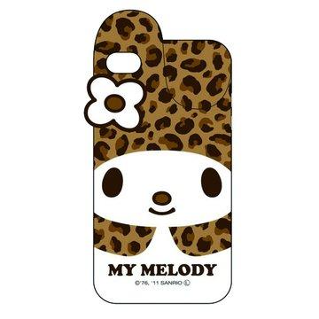 GD iPhone 4/4S Melody立體兔耳保護套(咖啡