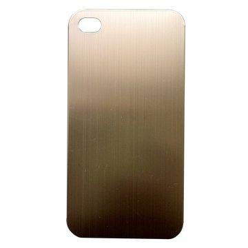 Link All iPhone4S 鈦合金-(金) 保護殼