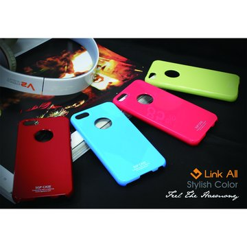 Link All iPhone5 鏡面烤漆-(天空藍) 保護殼