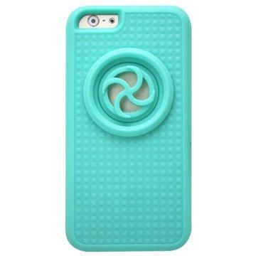 iPhone6(4.7吋)擴音喇叭保護套-水藍色