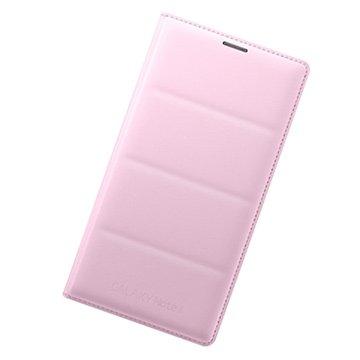 SAMSUNG 三星 三星Note 4原廠翻頁式皮套-粉