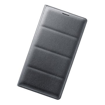 SAMSUNG 三星 三星Note 4原廠翻頁式皮套-黑