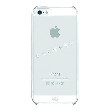 WD iPhone 5施華洛世奇斜紋水鑽背蓋(透明)