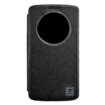 AZUL Asus ZenFone2(非LASER)開窗皮套-黑
