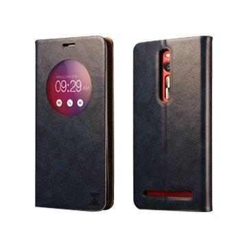 ICARER 艾克 XOOMZ Zenfone 2(非LASER)可立皮套5.5吋-深藍
