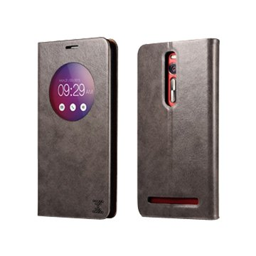 ICARER 艾克 XOOMZ Zenfone 2(非LASER)可立皮套5.5吋-灰