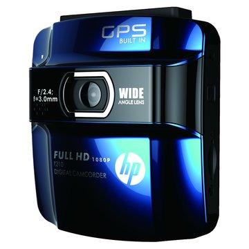 hp 惠普 F210 行車紀錄器+TF 8G+3孔車充線(福利品出清)