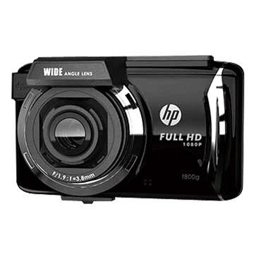 hp 惠普 F800G 觸控式 GPS 行車記錄器(黑)(福利品出清)