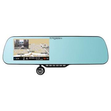 Trywin 碁碩 3DX Mirror 5吋導航行車記錄器 (福利品出清)