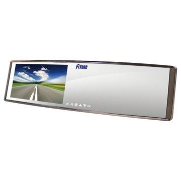 FLYone RM03 廣角曲面鏡後視鏡型行車記錄器(福利品出清)