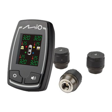 Mio MiTIRE T26 胎外式 螢幕式胎壓偵測組(福利品出清)