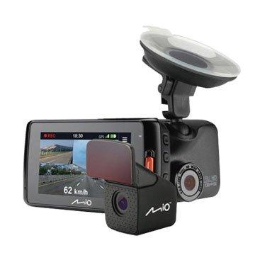 Mio MiVue 618D 高感光雙鏡頭GPS行車記錄器(福利品出清)