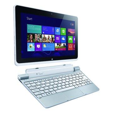 acer 宏碁 W510 10.1吋平板電腦(Z2760//64G/白/win8/贈office)(福利品出清)