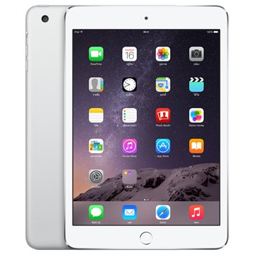 APPLE 蘋果 iPad mini3 (WIFI/64G/銀)MGGT2TA/A(福利品出清)