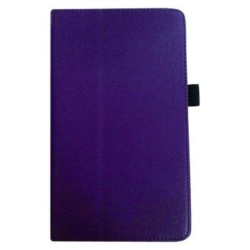 NEXUS7二代荔枝支架皮套/紫