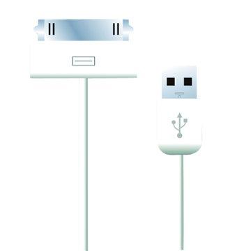 PC Park iPad/iPhone USB充電傳輸線