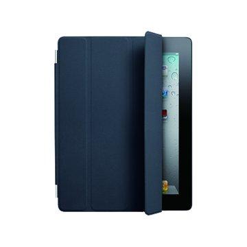 APPLE 蘋果 iPad2 Smart Cover皮革皮套/藍