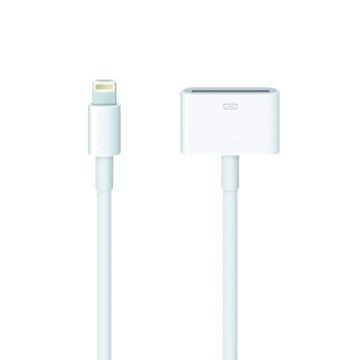 APPLE 蘋果 Lightning 對 30針轉接器0.2M