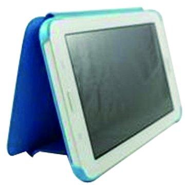 SAMSUNG 三星 皮套:三星 T110 皮套/藍