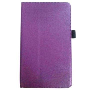 """皮套:三星TabS T700/T705 8.4""""荔枝紋支架/紫"""