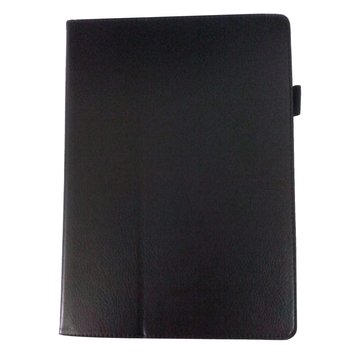 """皮套:三星TabS T800/T805 10.5""""荔枝紋支架/黑"""