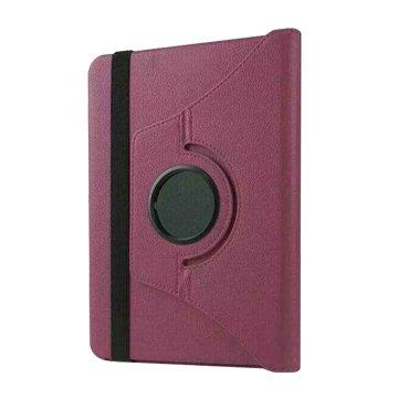 皮套:ipadpro9.7吋荔枝旋轉/紫