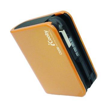 iCooby C-5200橘 行動電源 5200mAh (Micro收納式)