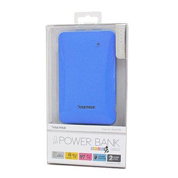 E-SENES 逸盛愛FUN電  超薄10000mAh行動電源-藍