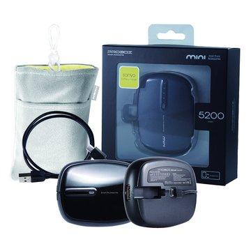 PROBOX 三洋電芯 MINI 5200mAh 行動電源-黑